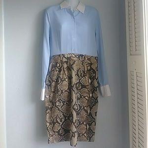 Altuzarra for target pin stripe dress sz: 6